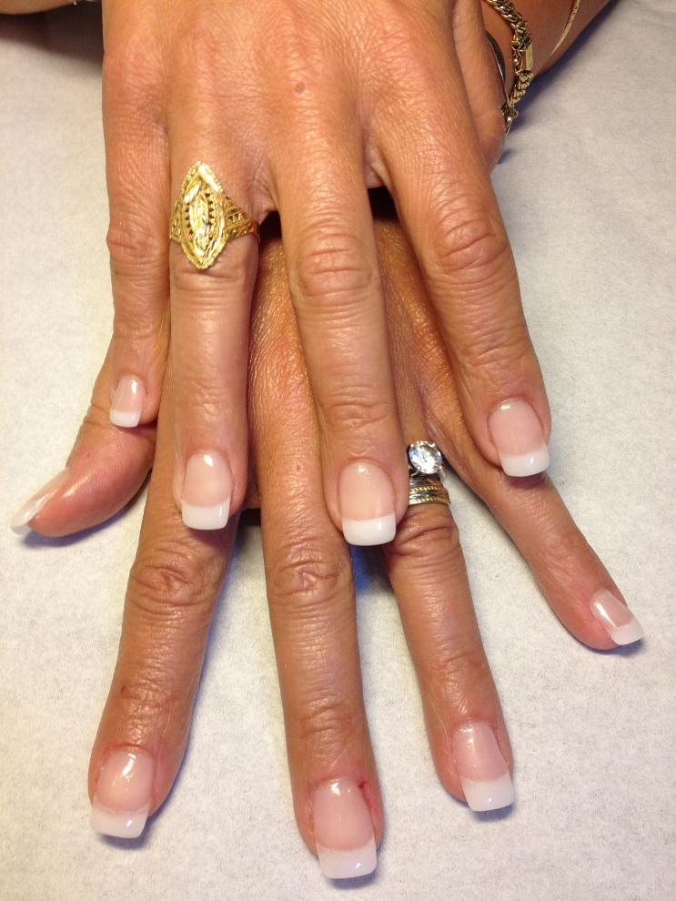 Ongles en gel carre - Forme d ongle ...